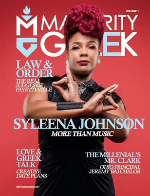 Majority Greek #1 Syleena Johnson