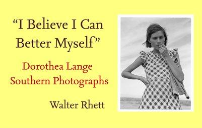 Dorothea Lange Southern Photographs, 1936 - 1939