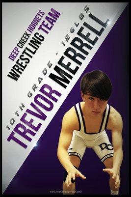 Trevor Merrell DC #1 Poster