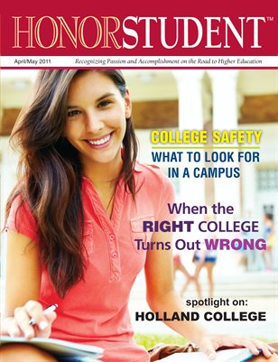 Honor Student Magazine: April/May 2011