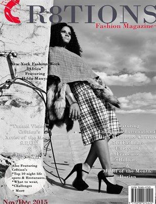 Cr8tions Magazine 2015 Lockdown Cover