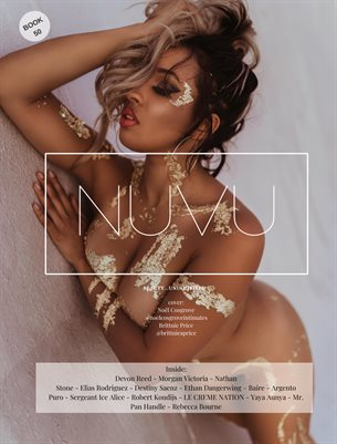 Nuvu Magazine Nude Book 50 Featuring Brittnie Price