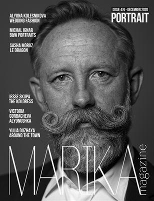 MARIKA MAGAZINE PORTRAIT (DECEMBER-ISSUE 474)