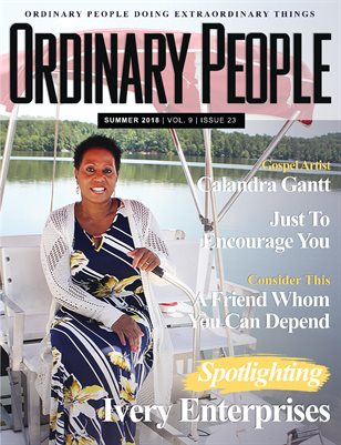 ORDINARY PEOPLE Magazine Vol 9 | Issue 23 Summer 2018