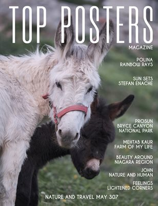 TOP POSTERS MAGAZINE - NATURE AND TRAVEL MAY (Vol 307)