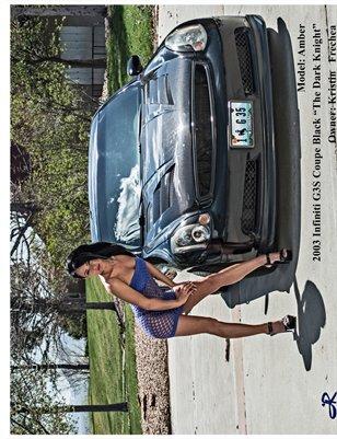 Amber Car Calendar