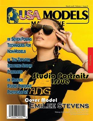 USA Models Magazine • Studio Portraits Issue • Mar 2018 • Vol 1 • Issue 8