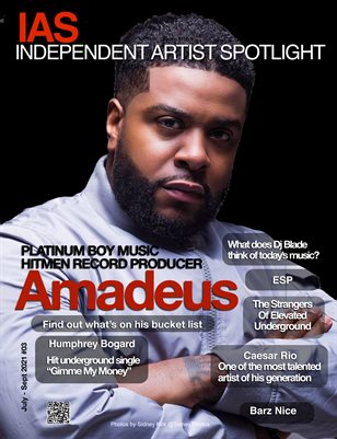iAS Mag featuring Amadeus from the Hitmen
