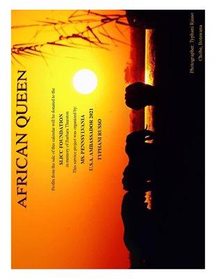 2021 African Queen Wildlife Calendar