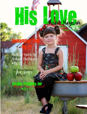 His Love Model Magazine (Back To School 2012 Issue)
