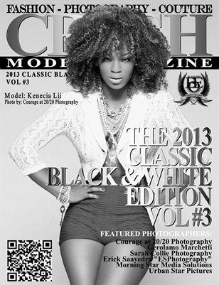 CRUSH Model Magazine 2013 BLACK & WHITE EDITION VOL #3