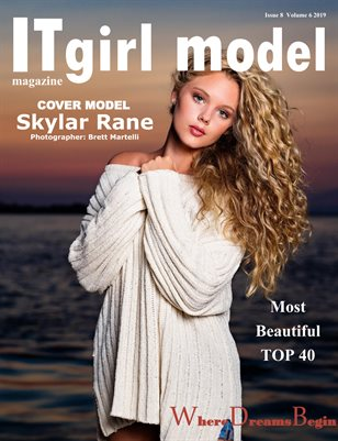 It girl model magazine Issue 8 Volume 6 2019 TOP 40 Most Beautiful