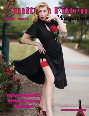 Smitten Kitten Pinup Magazine Cover 1 Miss Audrey Monroe May 2020 Issue