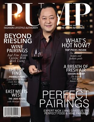PUMP Fashion Lifestyle Magazine - Featuring Nick Liang