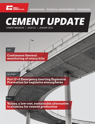 Cement Update - Issue 3 - January 2018