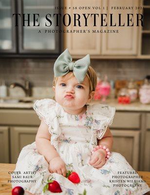 The Storyteller Magazine Issue # 58 OPEN VOL 1
