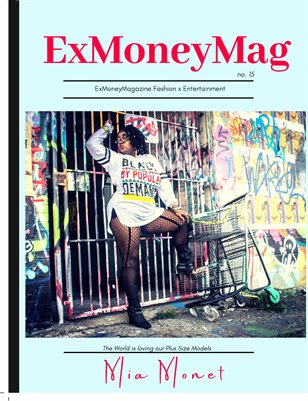 Ex Money Magazine- Mia Monet