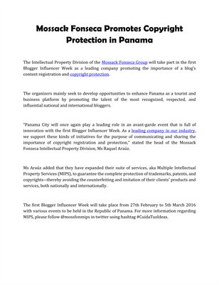 Panama: Ship Registry up Despite Slowing Global Economy by Mossack Fonseca