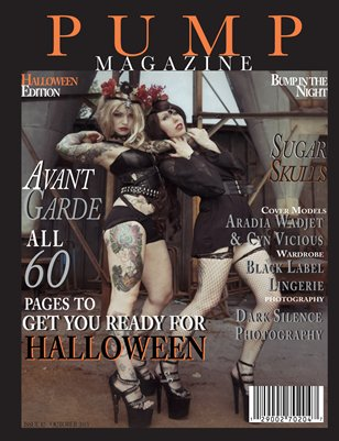 PUMP Magazine Halloween Edition Issue 42