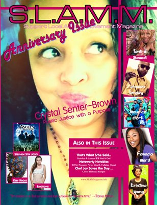S.L.A.M.M. Winter 2012/13 Issue (Cover: Crystal Senter Brown)