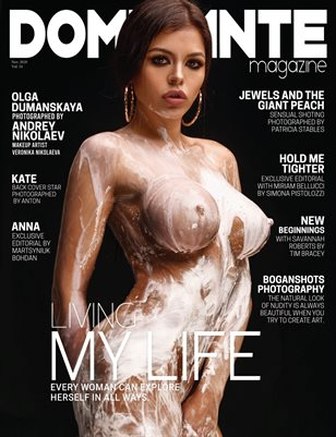 DOMINANTE Mag NUDE & Boudoir Vol. 24 Nov 2020