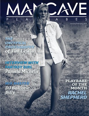 MANCAVE PLAYBABES - JAN/FEB 2016