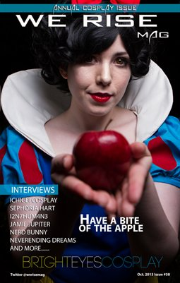 We Rise Mag October Cosplay Issue#58