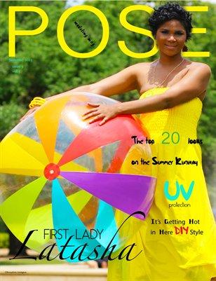 POSE modeling mag SUMMER 2013