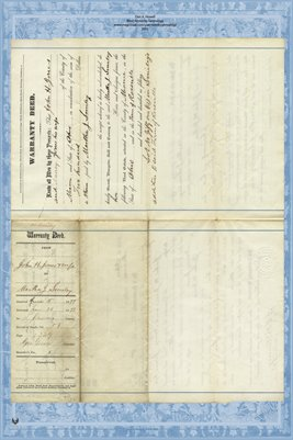 1877 Deed, Jones to Smiley, Miami County, Ohio