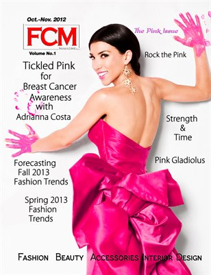 "Fashion Couture Magazine ""Pink Issue"" Vol.1 Issue 2"