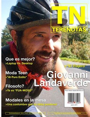 Giovanni Landaverde... El Viajero