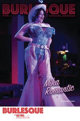 BURLESQUE Volume 2 - Mika Romantic Cover Poster