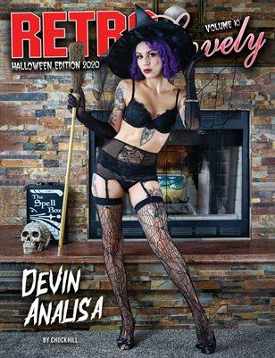 Halloween 2020 - VOL 10 – Devin Analisa Cover