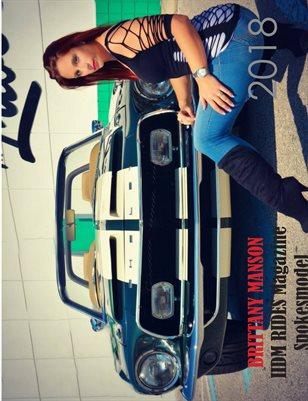 Brittany Manson IIDM RIDES Magazine Calendar