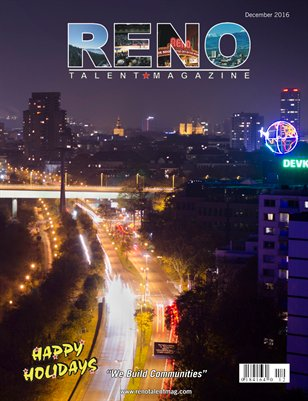 Reno Talent Magazine December 2016 Edition