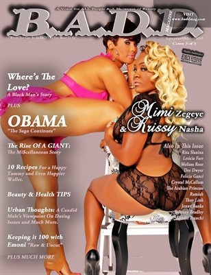 B.A.D.D. Magazine's Inaugural Issue Cover 3 of 3