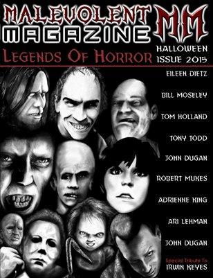 Malevolent Magazine LEGENDS OF HORROR (Version 2)