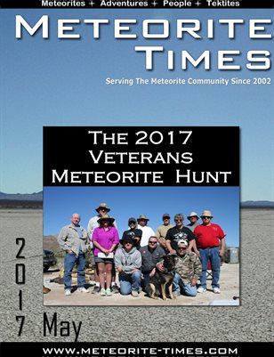 Meteorite Times Magazine - May 2017 Issue