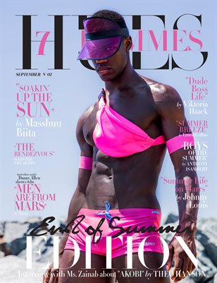 7Hues Hommes 'End of Summer Edition' N'02 - September 2019 - Cover 3