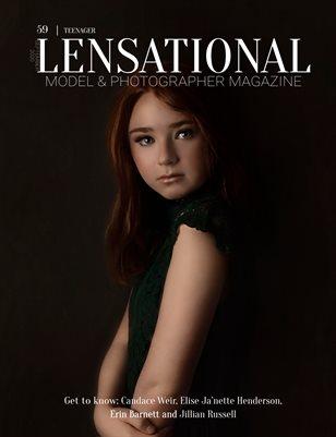 LENSATIONAL Model and Photographer Magazine #59 Issue   Teenager - September 2020