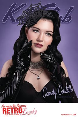 Kat Club No.40 – Comely Castello Cover Poster