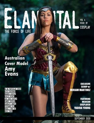 EVM4 Cosplay Wonder Woman Cover