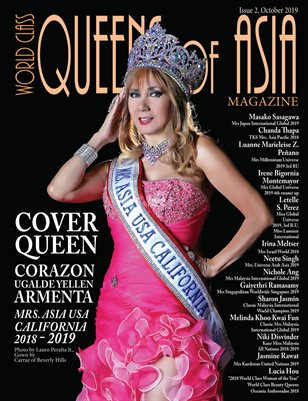 World Class Queens of Asia Magazine Issue 2 with Corazon Ugalde Yellen Armenta
