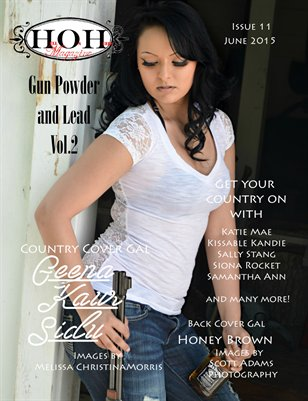 Hell on Heels Magazine June 2015 Issue #11 Vol. 2 Gunpowder and Lead