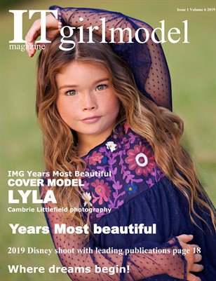 It girl model magazine Issue 1 Volume 6 2019 Years Most Beautiful