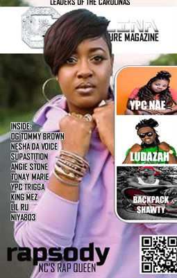 Carolina Hip Hop Culture Magazine: Leaders of the Carolinas 2017 (Rapsody)