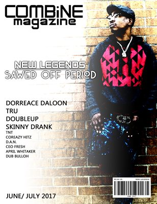 June/ July New Legends Issue Sawed Off Period Cover