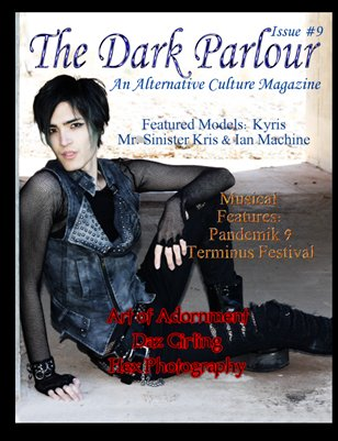The Dark Parlour - Issue #9 - Summer Heat! - Male Models Special Edition