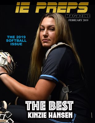 IE Preps Magazine Softball Issue Feb. 2019