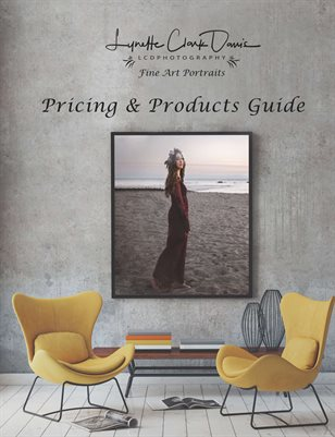 LCDPhotography | 2019 Pricing and  Product Guide